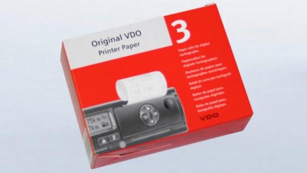 Original VDO Druckerpapier